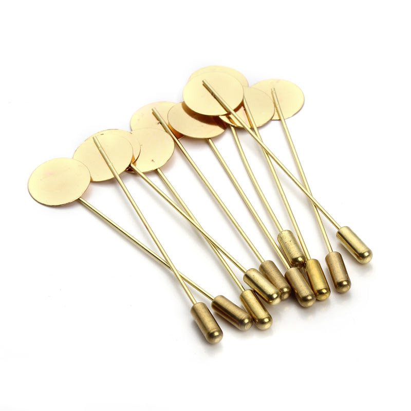 20 шт./лот 7.3 см золото цвет
