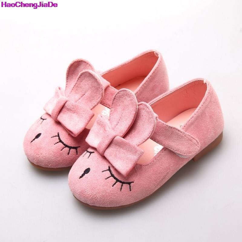 Haochengjiade дети принцесса Обувь Новый малышей из искусственной кожи, Детские Обувь для девочек танец Спортивная обувь детей тонкие туфли для Обувь для девочек 21-30