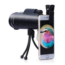 Telescope  for Phone 40X60 Long Range Zoom Hunting Monocular High Definition Camp Hiking Ultra Clear Waterproof