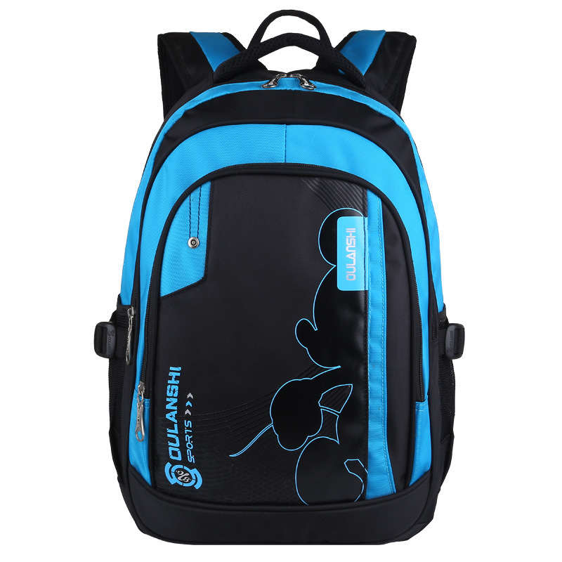 b248143d8c7d New Arrival PU Leather Waterproof Orthopedic Backpack Boys School Bags  Backpacks School Portfolio Kids Satchel Girls Schoolbag