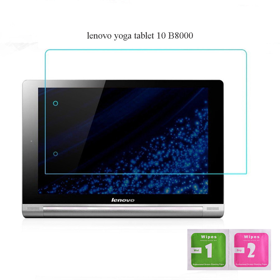 Screen Protector For Lenovo Yoga Tablet 10 B8000 Tempered Glass Film Tablet PC Film 2 5D