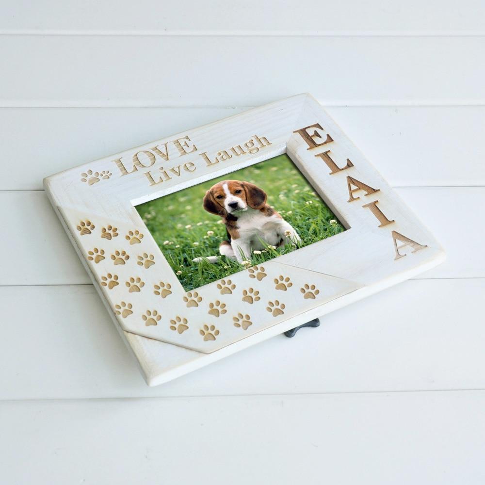 Personalize Pet Memorial Frame Pet Loss Frame Wood Engraved Frame ...