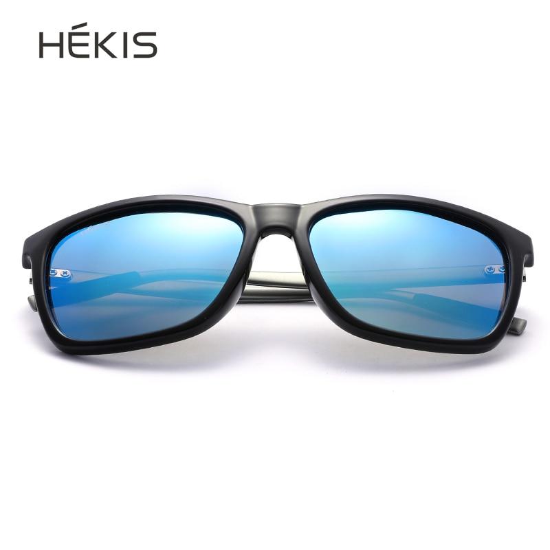 Sunglasses men polarized square retro gothic punk black blue green vintage sun glasses luxury brand designer for driving 2019 in Men 39 s Sunglasses from Apparel Accessories