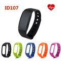100% Original Makibes ID107 Smart Bracelet BT4.0 Heart Rate Monitor Smartband Pulse Sports Fitness Tracker for Android iOS