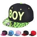 Kids 3D Letter BOY Cap Spring Summer Baby Boys Girls Baseball Caps Casual Adjustable Hip-Hop Snapback Sun Hat