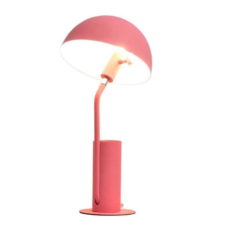 Цветная настольная абажур для лампы Luminaria de Mesa Lampara светодиодный Escritorio ручка контейнер для чтения Книжные огни Настольный E27 светодиодный Настольный светильник - 2