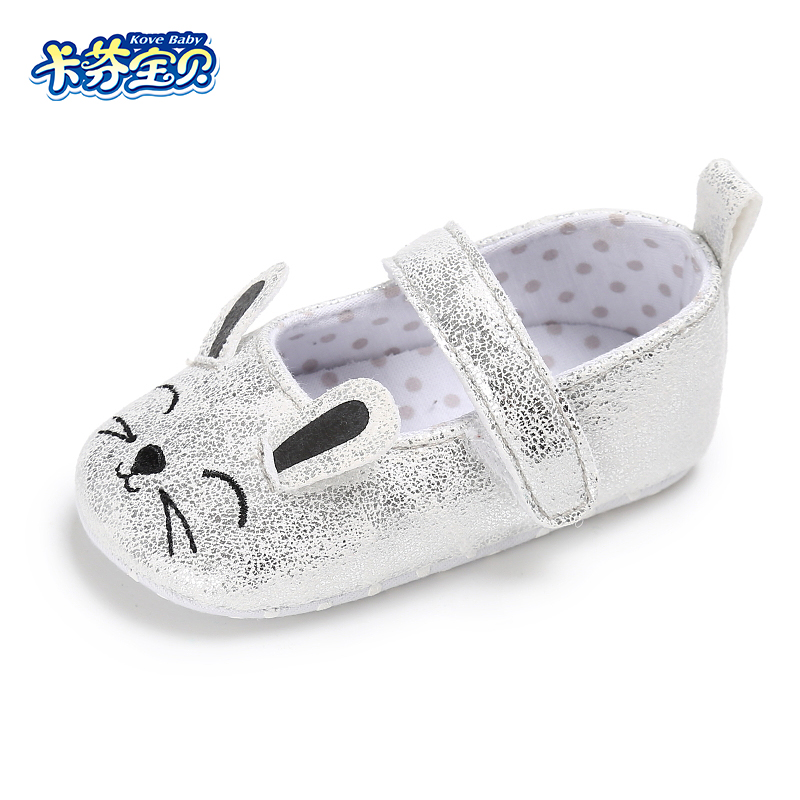 Soft Bottom Fashion First Walkers Infant Boys Girls Cute Animal Pattern Indoor Leisure Toddler Shoes 0-18 Months