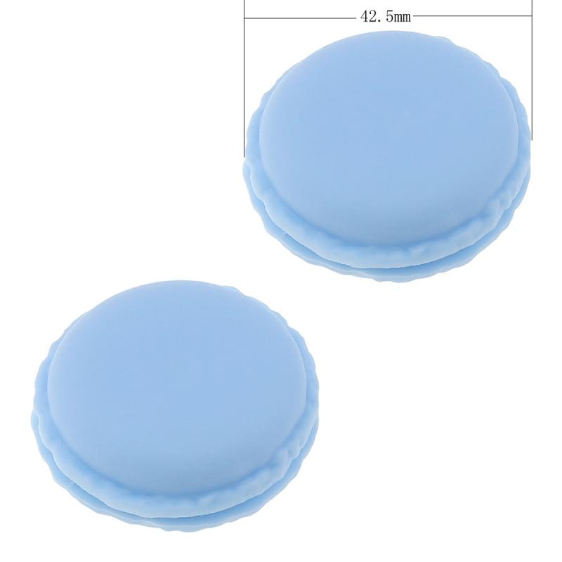 5 pcs/Lot Cute Candy Color Macaron Storage Box Jewelry Packaging Display Pill Case Jewelry Rings Unique Decoration Gift Boxes