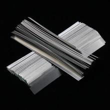 100 шт./лот 0,15 мм x 7 мм x 100 мм качество низкое сопротивление 99.96% чистый никель полосы листы для аккумуляторная машина для точечной сварки