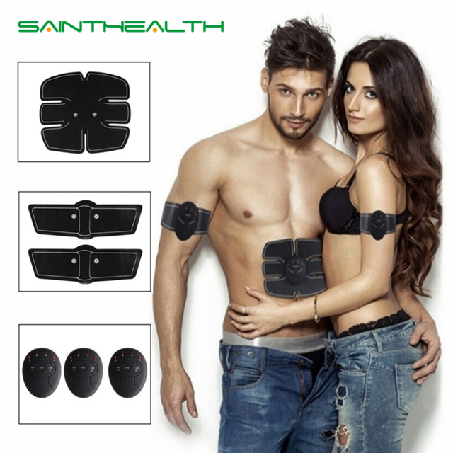 Wireless Electric muscle stimulator Abdominal machine ABS ems Trainer fitness Weight loss Body beauty slimming Massage