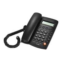 Desk Telefone Corded Telephone Phone Landline LCD Display Caller ID Volume Adjustable Calculator Alarm Clock