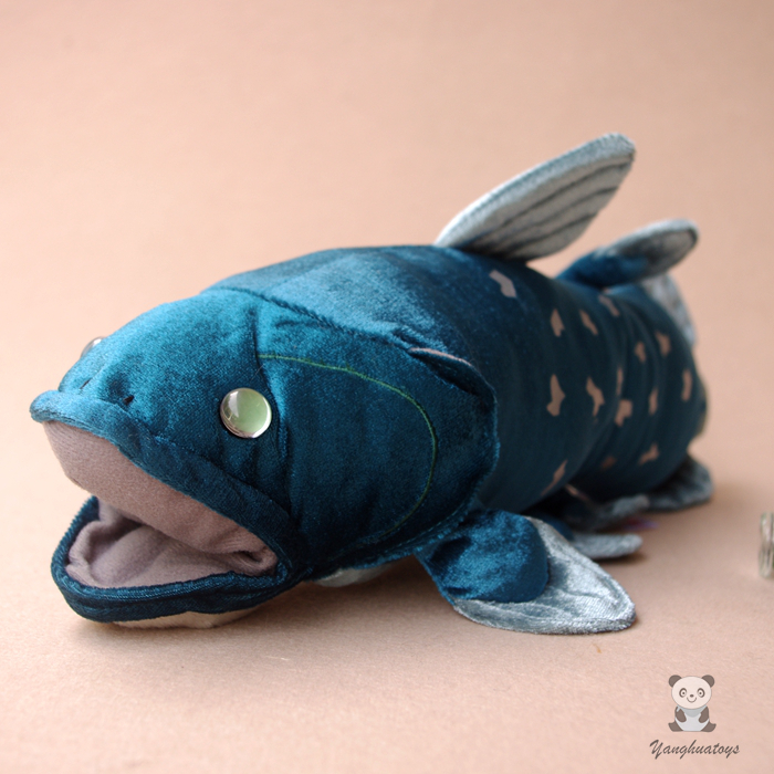 Plush Toy Coelacanth Ancestor Fish Doll Children'S Toys Simulation Of Marine Animals Prehistoric Extremely Rare