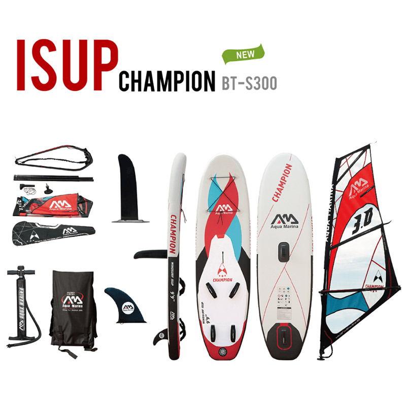 Aqua marina Champion inflatable SUP Windsurf SUP WindSUP inflatable surf board Stand up paddle board surfing board inflatable stand up paddle board inflatable sup board inflatable paddleboard