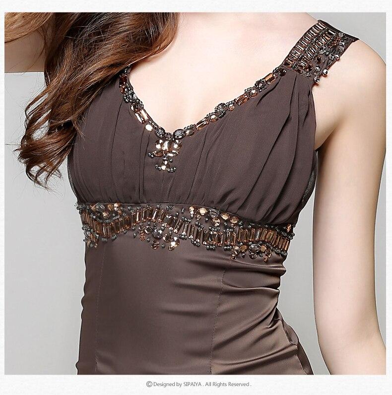 Женское облегающее платье с v образным вырезом без рукавов Черное