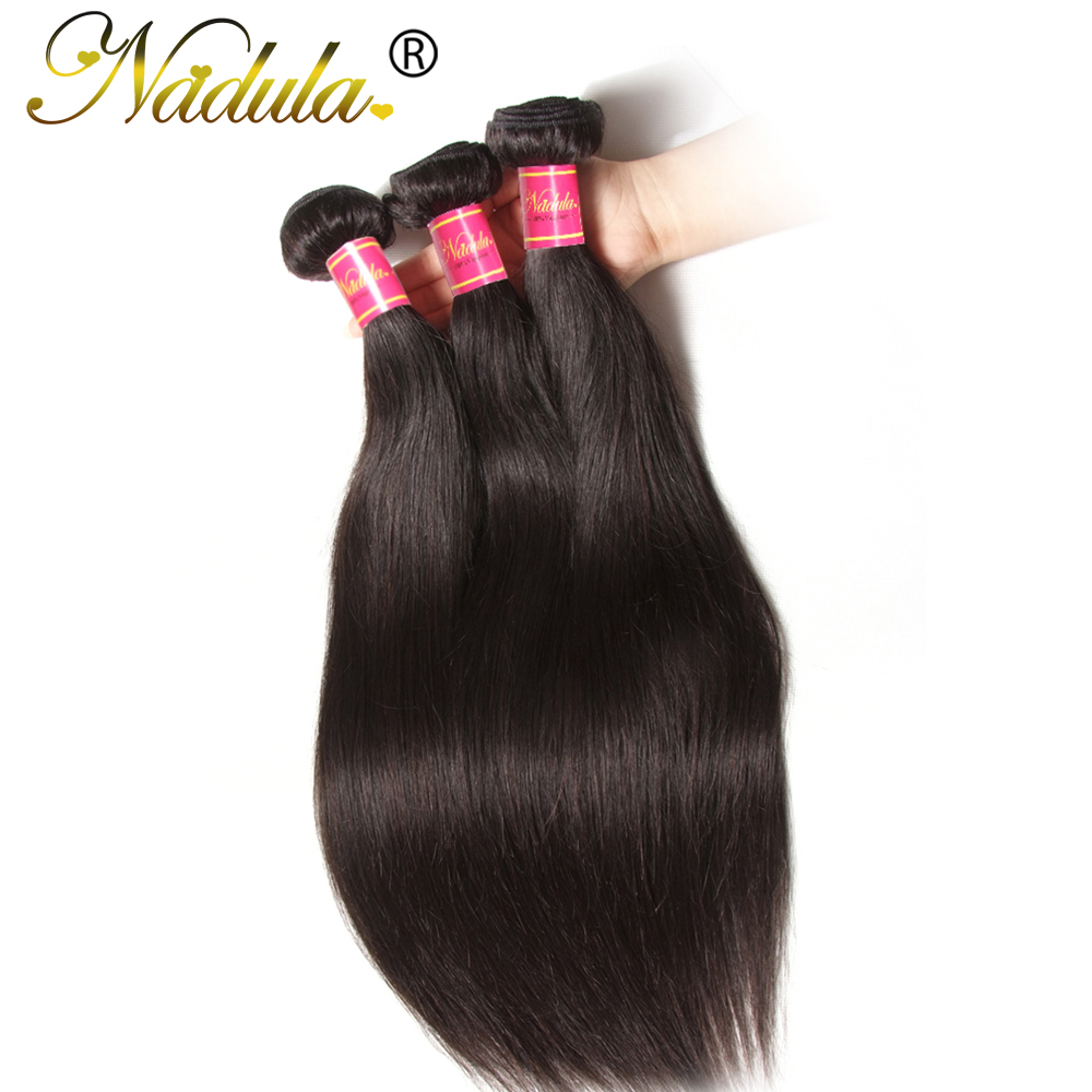 Brazilian Virgin Hair Straight 3 Bundles/Lot Unprocessed Brazilian Hair Weave Bundles 100% Human Hair Brazilian Straight Hair