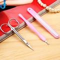 Profesional de Uñas 1 Unidades/3 unids Salon Diy Herramienta Del Arte Del Clavo Kit de Uñas Kit de Aseo de Aseo Tijeras Para Las Uñas 2JX2