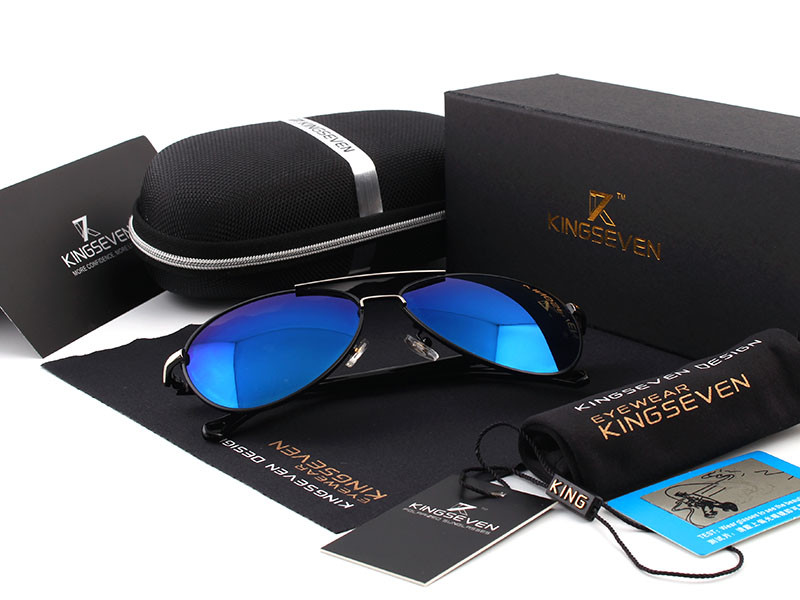 2016 New Arrival KINGSEVEN Polarized Sunglasses Men/Women Brand Designer Male vintage Sun Glasses gafas oculos de sol masculino 3