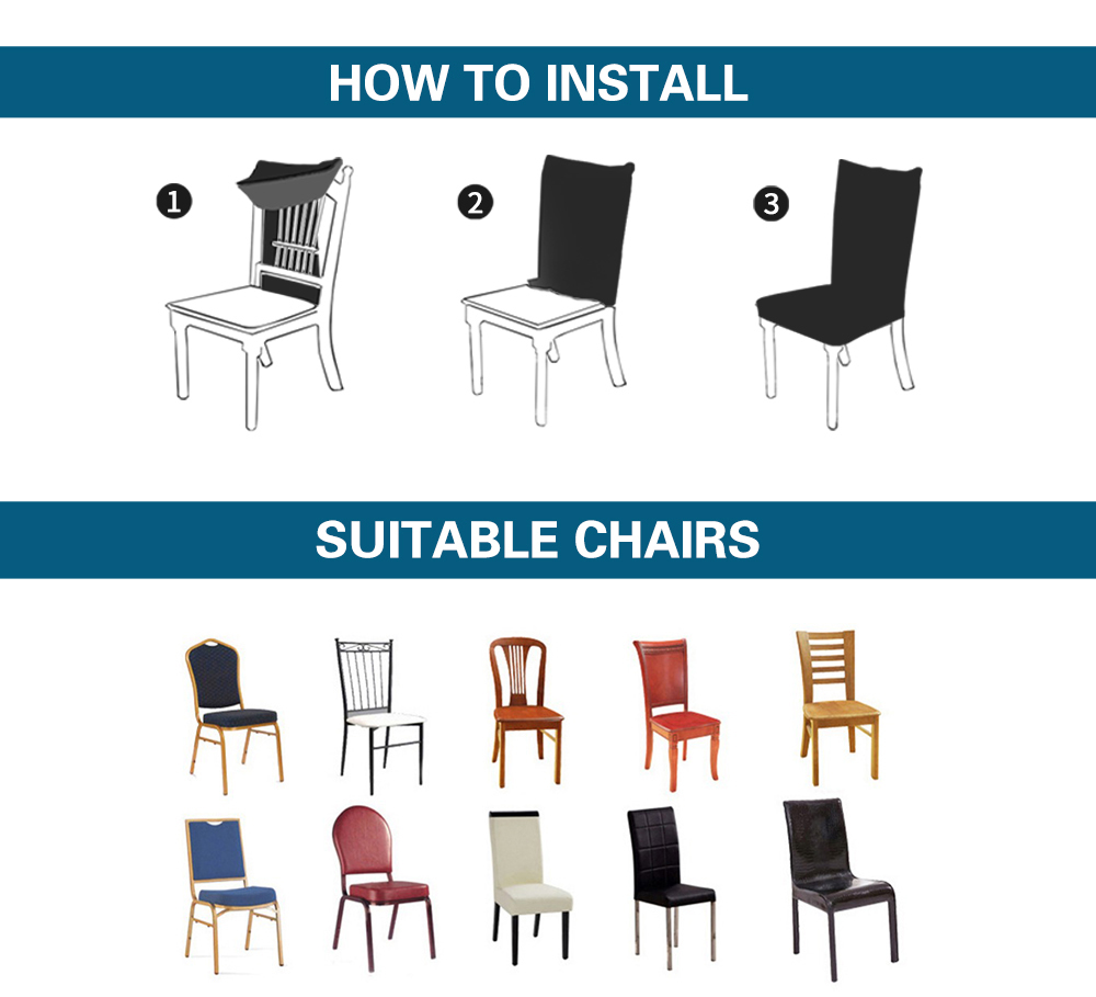 Spandex Chair Covers For Dining