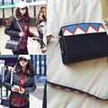 New 2017 star women  pallelled color luxury handbags women bags designer lady crossbody flap phone bag bolsas sac a main femme