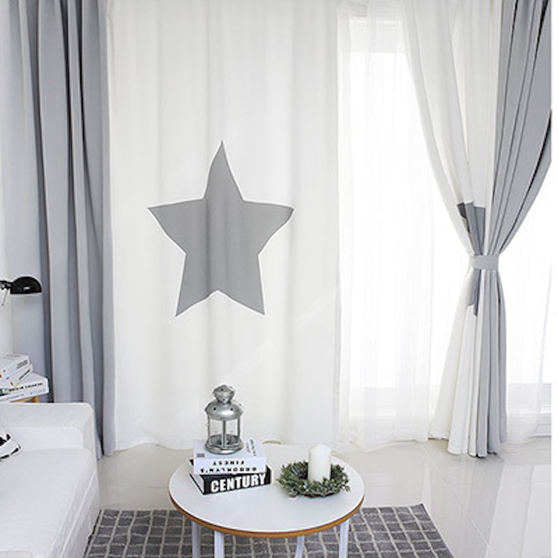 x cm patchwork cortinas panel unids escaparate cortina empate cortina de ondas nursery nios habitacin