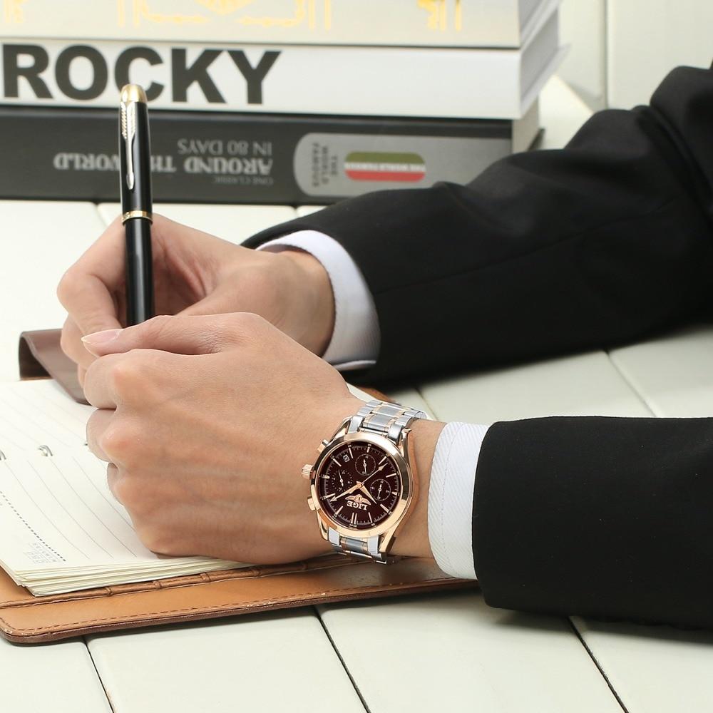 Relojes Hombres LIGE Marca Relojes militares de acero completos - Relojes para hombres - foto 6