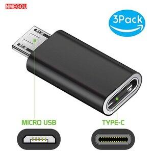 3PCS Type C To Micro USB Andro