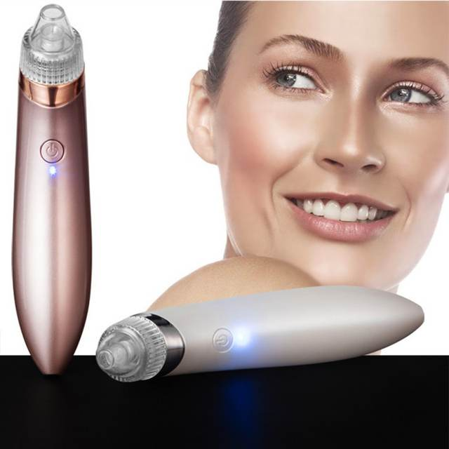 Blackhead Vacuum Suction Diamond Removal Wrink Acne Pore Peeling Face  Electric Clean Facial Cleaner Skin Care Tools Beauty