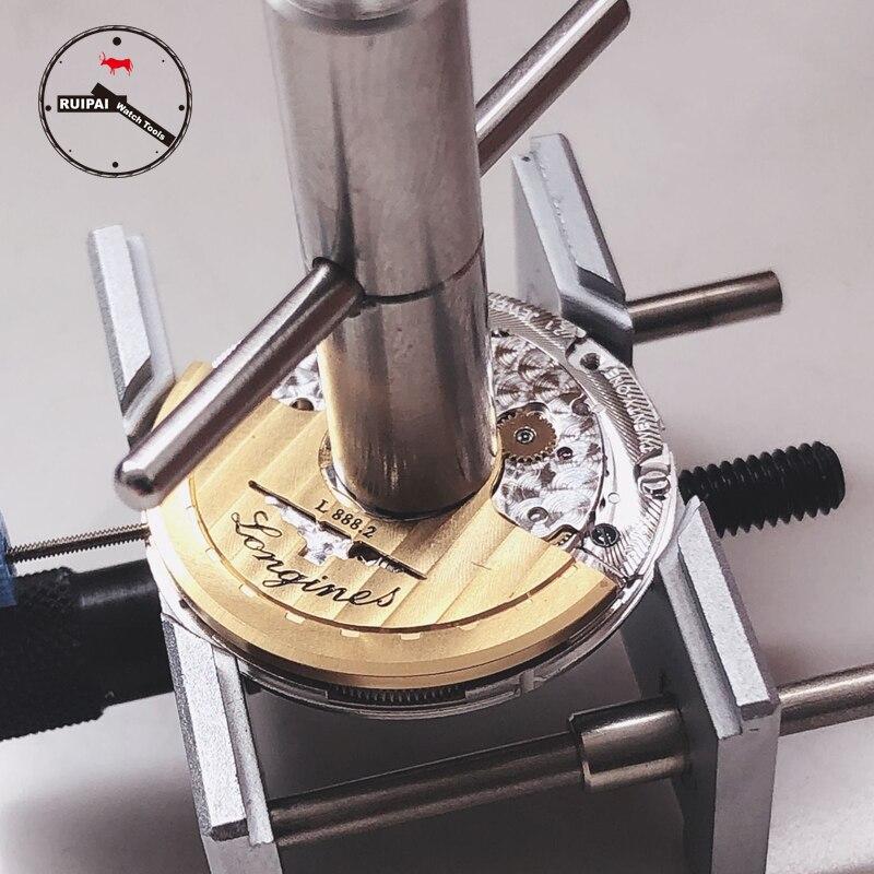 Diâmetro do abridor do movimento do relógio de aço inoxidável