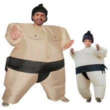 c8304cf8b48e4c Sumo nadmuchiwany kostium Halloween kostiumy dla kobiet dla dzieci karnawał  boże narodzenie Cosplay sukienka na imprezę stroje t.