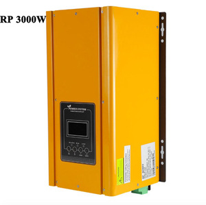 RP 3000W 12V/24V/48Vdc off grid DC to AC power pure sine wave inverter with battery charger UPS 3KW Low Frequency power inverter