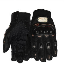 black Motorcycle Gloves Screen Breathable Wearable Knight Protective Gloves Guantes Moto Luvas Alpine Motocross Stars Gants Moto