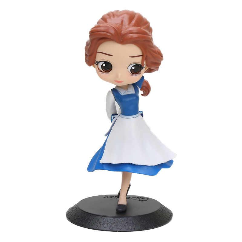 Q Posket Arale lalka księżniczka królewna śnieżka roszpunka Ariel mulan kopciuszek Belle Aurore syrenka pcv QPosket postacie zabawka