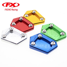 Aluminum Motorcycle Side Stand Plate Kickstand Extension Pad Enlarger For Honda CBR600RR F5 2013-2015  sc 1 st  AliExpress.com & Buy motorcycle stand plate honda and get free shipping on AliExpress.com