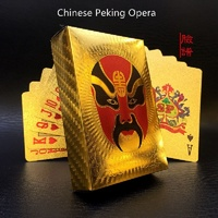 Pure 24 K Carat Novelty Gold Foil Plated Poker Playing Cards Game High Grade Sports Leisure
