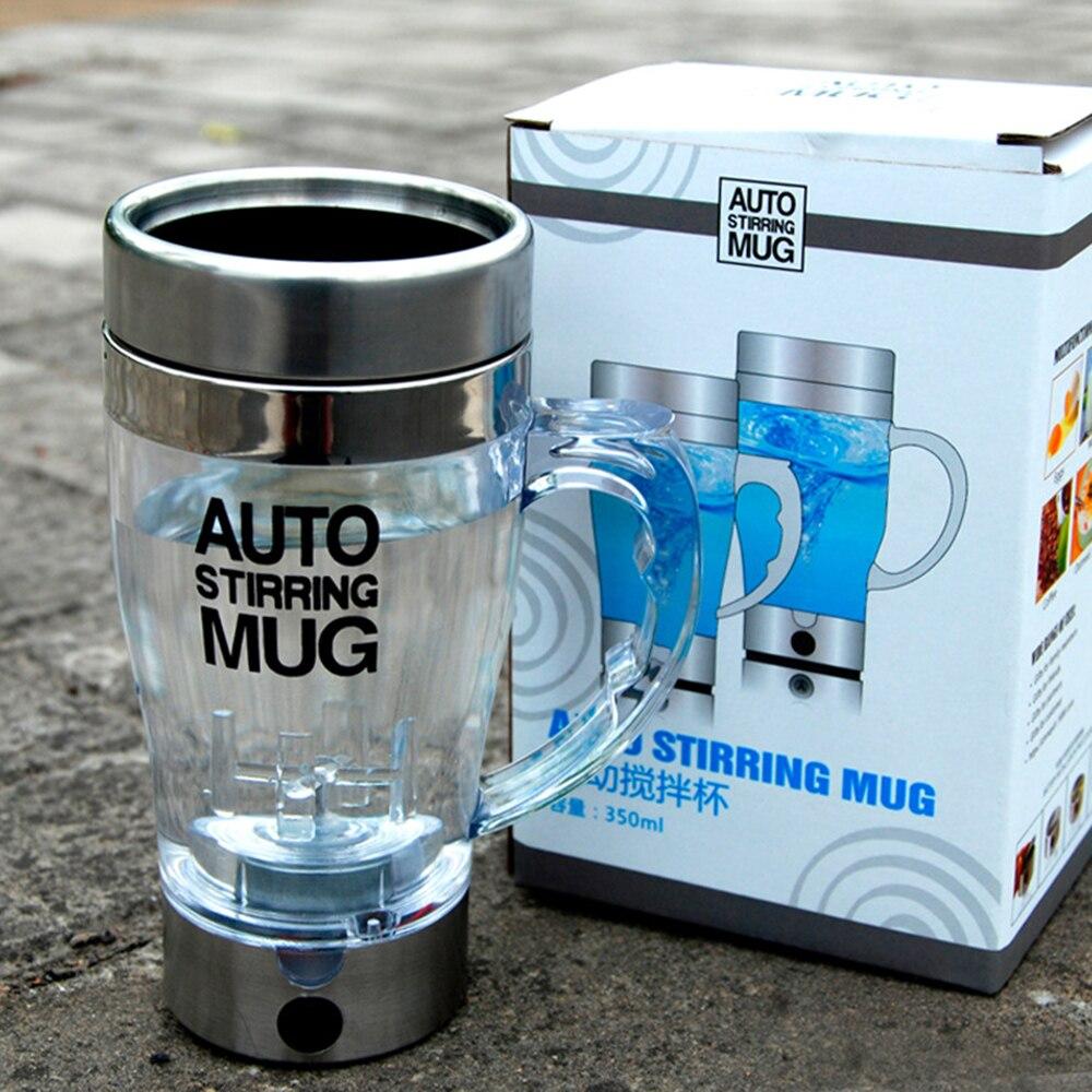Selbstrührende Kaffeetasse Doppelt isolierte Kaffeetasse 350 ml - Küche, Essen und Bar - Foto 6
