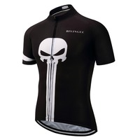 Ghost Cycling Jersey Men Maillot Ciclismo Hombre Mtb Jersey Black