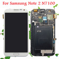 100% Test OK LCD Display Touch Screen Digitizer with Frame Full Set Assembly Replacement for Samsung Galaxy Note 2 N7100