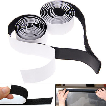 2 rolls black strong self adhesive hook loop tape fastener sticky 1m 3ft free shipping.jpg 350x350