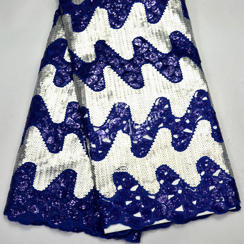 FolaSade Latest African Organza Fabric With Allover Glitter Sequins Material For Nigerian Women Dress High Quality TY964