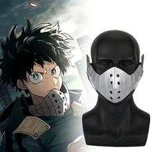 Anime My Hero Academia izuku midoriya Cosplay Mask PVC Boku no EVA Masks Prop Fans Gift