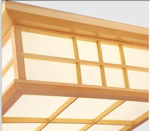 35X35cm moderne japonske stropne luči Washitsu Tatami dekor svetilka - Notranja razsvetljava - Fotografija 3