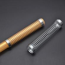 Металлические щипцы для кальяна, пружинный шланг для кальяна Sheesha Chicha Nargile, держатель шланга для защиты, силиконовый шланг, аксессуары для кальяна