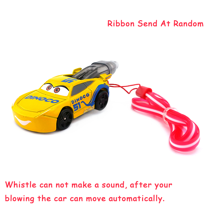 Toys & Hobbies Careful Disney Pixarcars 3 Dinoco Cruz Ramirez Whistle With Colorful Ribbon Metal Diecast Toy Car 1:55 Loose Brand New & Free Shipping