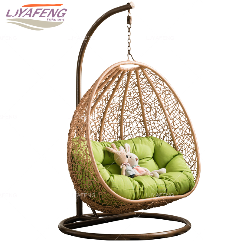 Two person.Hanging chair swing swing cane chair, sofa vine outdoor chair, swing basket.The bird's nest hanging basket