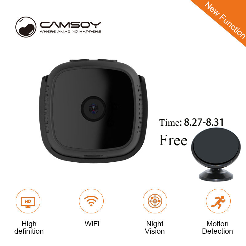 Mini Camera Wifi 720p IP Outdoor Night Vision Android wi fi Wireless Small Car Camcorder Motion Detection HD Sport Portable