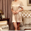 New Arrivals Vintage Nightgowns Silk Ladies Dresses Princess Bow Sleepwear Soft Loose Home Dress Comfortable Nightdress #H71