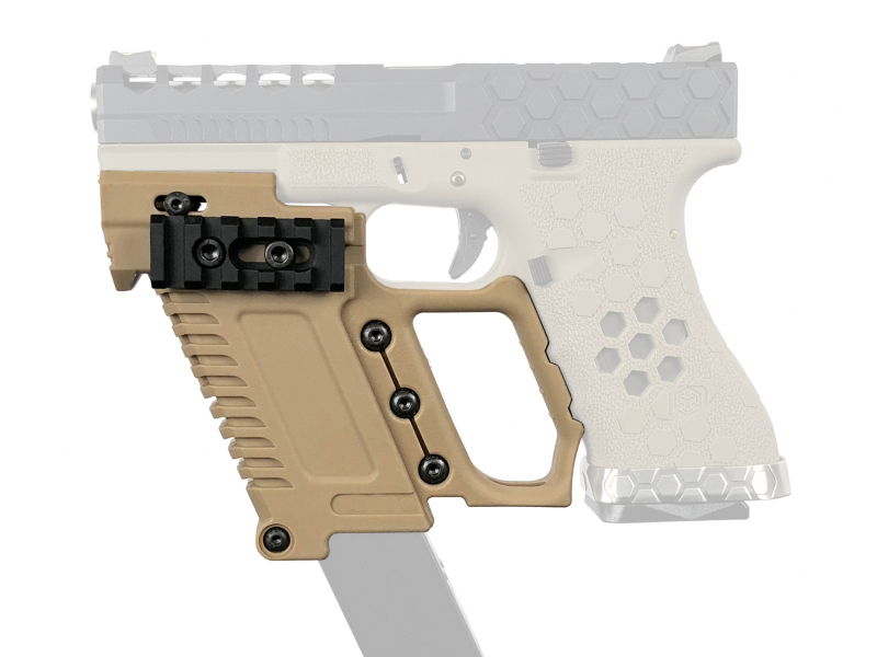 WoSporT 2018 airsoft air guns the glock water cannon is fitted with 17 18 19 Series