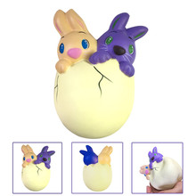 Easter gifts for children promotion shop for promotional easter ship from us drop shipping 15cm squishy easter bunny egg scented slow rising squeeze collect easter gift for child oyuncak 2018 new arrival negle