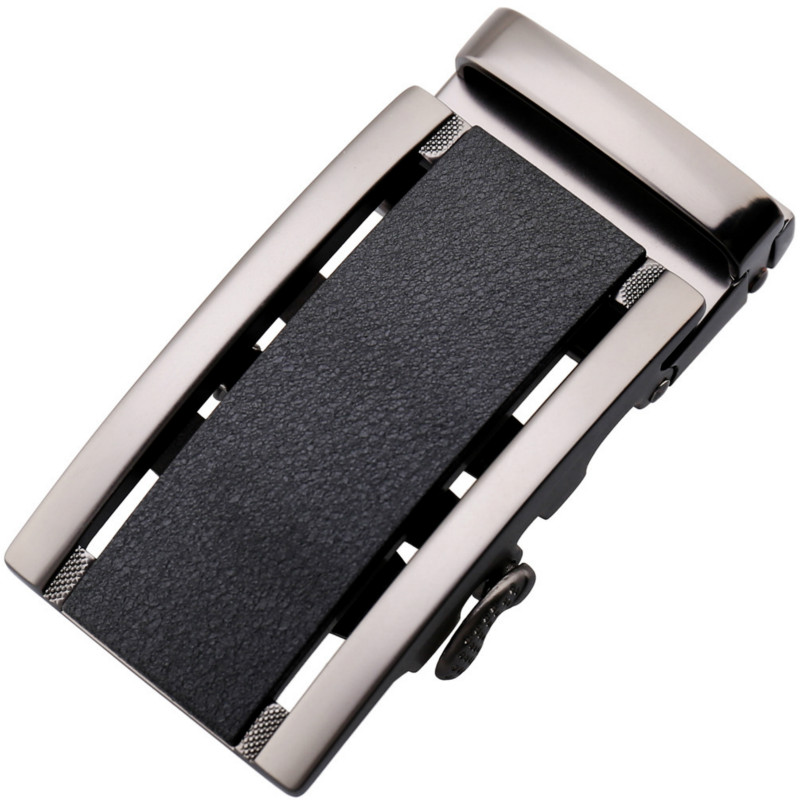 Genuine Men's Belt Head, Belt Buckle,Leisure Belt Head Business Accessories Automatic Buckle Width 3.5CM Luxury Fashion LY188102