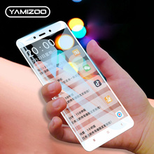 hot deal buy protective glass for xiaomi redmi 4x redmi note 4 global screen protector yamizoo 9h full cover tempered glass for redmi 4x film